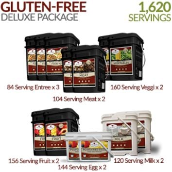 Gluten-free Deluxe Savings Package - 3 Month Supply