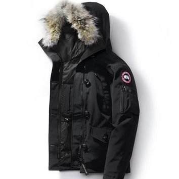 Canada goose winter WOMEN montebello Down jacket/black