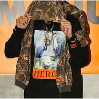 Boys & Men Heron Preston Fashion Top Sweater Pullover Hoodie