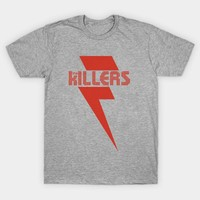 Men T-shirt Plus Size Tee Homme Summer Short Sleeve Casual the Killers Rock Band Letter Printed TShirts Camiseta Cotton T shirt