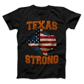 Texas Strong Longhorns Limited Edition Print T-Shirt & Apparel