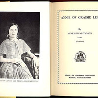 Signed First Edition Annie of Grassie Lea by Anne Pepper Varney HCDJ Scotland Mother Daughter Uncommon