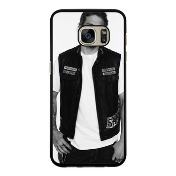 Soa Sons Of Anarchy Jax Teller Samsung Galaxy S7 Edge Case