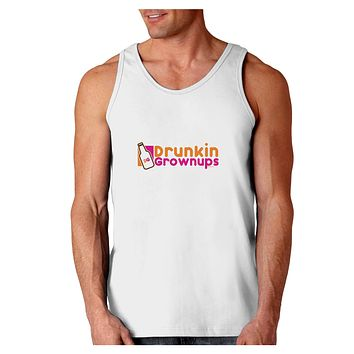 Drunken Grown ups Funny Drinking Loose Tank Top  by TooLoud
