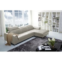 J&M Furniture Italian Leather Sectional Right Hand Facing