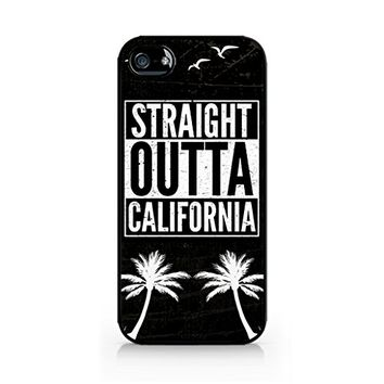 Straight Outta California - California Pride iphone case - Hard Plastic case for iPhone 6