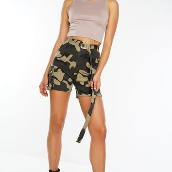 On A Mission Shorts - Camouflage