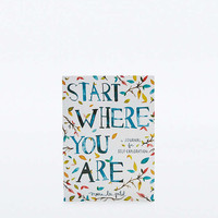Start Where You Are Journal - Urban Outfitters