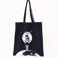 MOONGIRL Tote Bag – OMOCAT