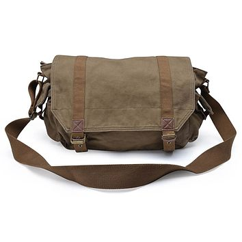 Canvas Messenger Bag #30623