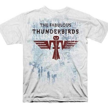 The Fabulous Thunderbirds AZTEC BIRD Officially Licensed Adult T-Shirt S-2XL