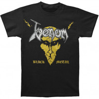 Venom Black Metal T-shirt - Venom - V - Artists/Groups - Rockabilia