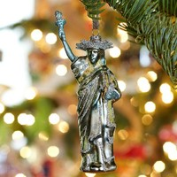Statue of Liberty Glass Ornament