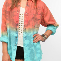 Urban Renewal Dip-Dyed Denim Shirt