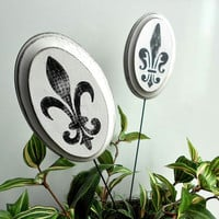 Fleur-de-Lis Plant Stakes Home and Garden Decor by LeMaisonBelle