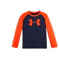 Under Armour Boys' Infant UA Big Log Raglan Long Sleeve