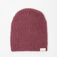 Neff Brie Beanie - Womens Hat - Red - One
