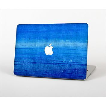 """The Unbalanced Blue Textile Surface Skin Set for the Apple MacBook Pro 15"""""""