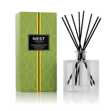 Lemongrass & Ginger Reed Diffuser by Nest