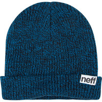 Neff Heather Fold Beanie Blue One Size For Men 19857820001