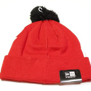 New Era NHL Detroit Red Wings Woven Biggie Cuffed Ski Hat Beanie