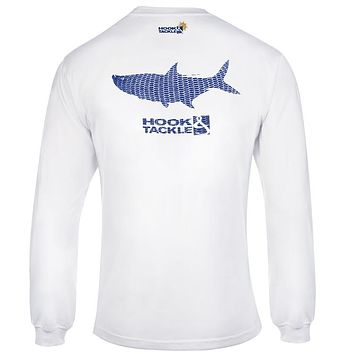 Men's Tarpon Scales L/S UV Fishing T-Shirt