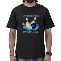 Worlds Biggest Bowling Fan T-shirts from Zazzle.com