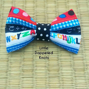 Back to school bowtie, bowtie for kids, kids bow ties, school, school ties, bow ties, bow tie
