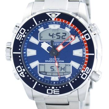 Citizen Aqualand Promaster Diver's 200M Analog Digital JP1099-81L Men's Watch