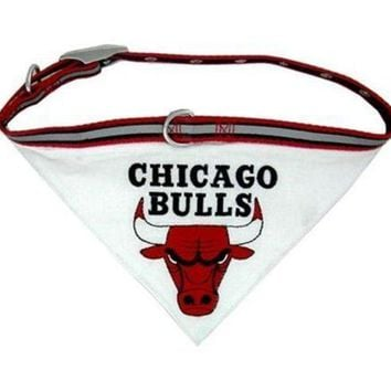 ESBONI Chicago Bulls Dog Collar Bandana