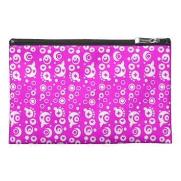 Pink Travel Accessory Bag