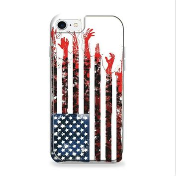 America Zombie Flag Walking Dead iPhone 6 | iPhone 6S Case