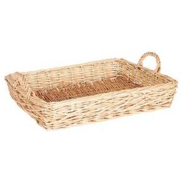 Household Essentials - Spring Bird Nest Willow Tray - Natural : Target