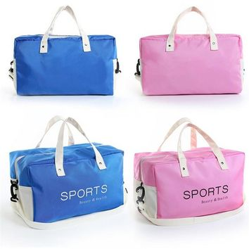 Brand New Sport Gym Bag Men Women Fitness Waterproof Outdoor Dry and Wet Separate Children's swimsuit sports bag
