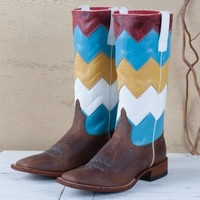 Macie Bean Ladies' Chevron Boots - Boots - Women's