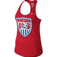 Nike Women's USA Soccer Core Crest Red Tank Top | DICK'S Sporting Goods