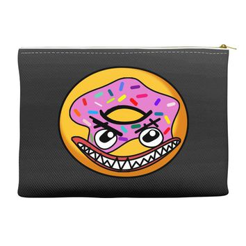 Angry Donut Accessory Pouches