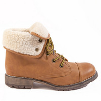 Dirty Laundry Raeven Lace Up Boot $72