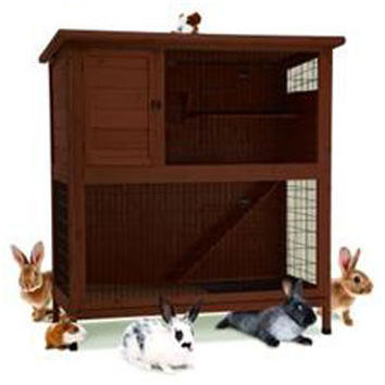 Rabbit Hutch 2 Story Hi Rise 48""