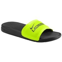 Nike Benassi Solarsoft Slide Lacrosse - Men's at Champs Sports