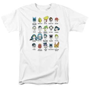 Dc - Superhero Issues Short Sleeve Adult 18/1 Shirt Officially Licensed T-Shirt