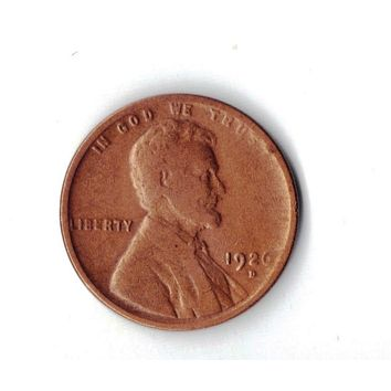 1926-D Lincoln Wheat Cent -Rare, Low-Mintage, and an emtpty slot in coin folders