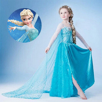 Frozen-Inspired Queen Elsa or Anna Dress