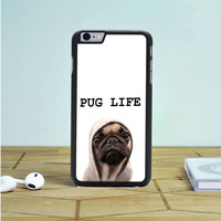 Funny Pug Life iPhone 6S Case Dewantary