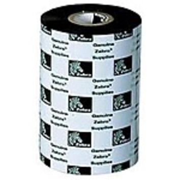 NOB Zebra 05319BK06045-R Wax Thermal Ribbon - 2.36-inches x 1,476 Feet - Single Roll