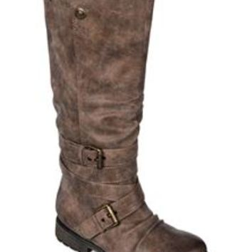Roxy Greenwich Tall Riding Boots in Brown ARJB700165-BRN