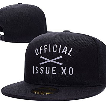 The Weeknd XO Logo Adjustable Snapback Embroidery Hats Caps