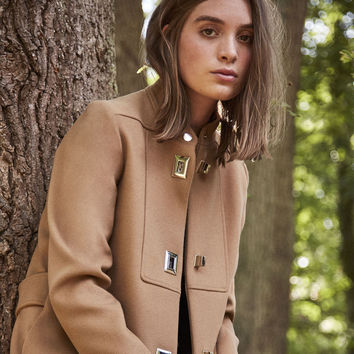 GODIVA Coat with decorative fastenings