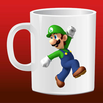 Super Luigi for Mug Design