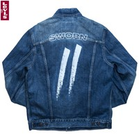 Sworn x Levi's® Denim Jacket // Denim Blue